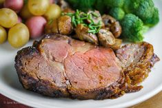 The easiest and most delicious Prime Rib beef roast, The Heritage Cook, Char-Broil Big Easy, Christmas, Holidays