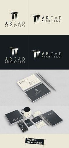 Arcad Architects by Kamil Guse, via Behance