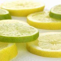 Lemon lime kefir water