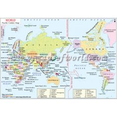 World Map with Latitude and Longitude | Science | Pinterest ...