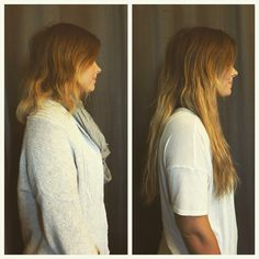WEST COAST HAIR@ Natural, safe, and gentle hair extensions! A special look you can only get from us! #hairextensions #westcoasthair #beforeandafter #hair #beauty