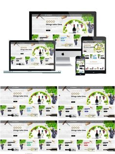 AT Winest is Responsive VirtueMart Joomla template that targets for wine store websites. Bootstrap Template, Joomla Templates, Good Things Take Time, Things To Come, Joomla Themes, Browser Support, Responsive Layout, Dynamic Design, Template Site