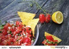 Rajčatová salsa recept - TopRecepty.cz