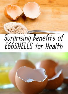 Amazing! Find out the surprising benefits of eggshells for your health! Consumption of eggshells are an important source of natural health.
