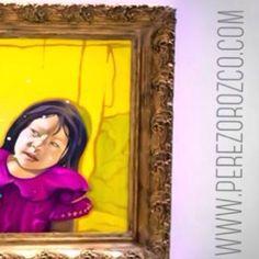 #checkitout #art #artoftheday #artwork #oilpainting #artgallery #art #artist #photographer #oldframe #exhibition #instaart #girl #girls #artistacolombiana #artepanama