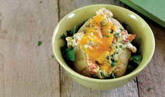 Lekker as 'n bygereg of hoofgereg! Potato Gardening, Potato Recipes, Potato Salad, Recipies, Potatoes, Breakfast, Ethnic Recipes, Om, Cactus