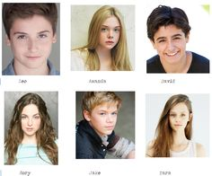 The characters in the Willow Falls series, as I imagine them.