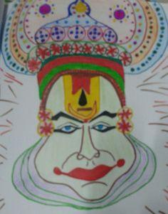 25 Best Kathakali Face Images Indian Art Kathakali Face