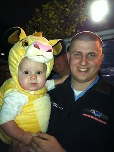 Browen Bell (aka Simba), and Uncle Ryan Nollette