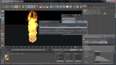 Plugins cinema 4d, tutorial para Turbulence FD para crear FUEGO, llamas ...