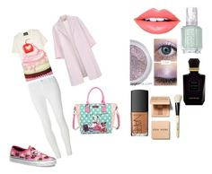 """"""""""" by amina2001976896 ❤ liked on Polyvore featuring Boutique Moschino, Dorothy Perkins, Vans, Paul Smith, Nicole Lee, Essie, Fiebiger, Keiko Mecheri, NARS Cosmetics and Bobbi Brown Cosmetics"""