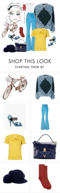"""""""Sooo Munich- the style of my hometown. Working girl"""" by juliabachmann ❤ liked on Polyvore featuring Tory Burch, Prada, Nina Ricci, Shrimps, Niels Peeraer, Lola, HUE and Louis Vuitton"""