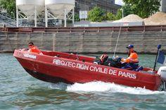 bénévoles secours nautique de la protection civile de paris