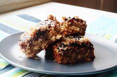 Choosing Raw - vegan and raw recipes | Breakfast-to-Go: Vegan Blueberry Oat Bars