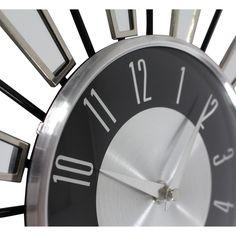 "Aspire Levi 7"" Wall Clock & Reviews | Wayfair"