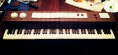 Bastion's Chocolate Piano (from the front)!