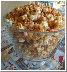 Cinnamon Coconut Caramel Corn