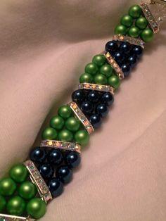 Seahawks bracelet/ Sold