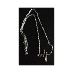 Silver tone heartbeat necklace NEW Brand new. Brilliant silver tone chain necklace with an electrocardiogram heartbeat pendant. Necklace measures 16in. around with a 2in. extender. Pendant measures almost 1 1/2in. long. Jewelry Necklaces