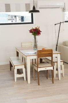 The Dining Table Is Made From Recycled Timber Christchurch Rebuild