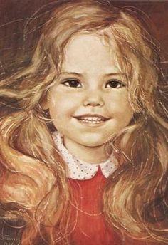 Blonde girl wearing a red jumper Sci Fi Music, Jean Paul Ii, Art Pictures, Photos, Precious Children, Portraits, Beautiful Paintings, Art World, Cute Art