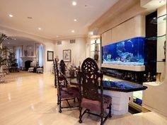 Ah, a kitchen aquarium — convenient for when you want fresh lobster.