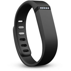 Fitbit Flex Activity Tracker Wristband ($100) ❤ liked on Polyvore featuring accessories, sports accessories, bracelets, jewelry, items and black