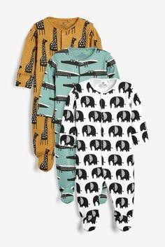 Jungen Pyjamas mit Auto-Print next Baby 3er-Pack