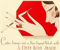 1926 Cutex nail polish ad