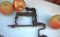 Reduced  Vintage Apple Peeler Corer / Primitive Metal by Chapter65