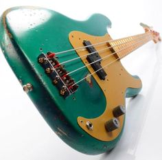 Learning songs on bass can be tricky at times, especially if the bass is EQ'd low and it's hard to seperate the drums, or the guitar is EQ'd low and s. Fender Bass Guitar, Bass Ukulele, Fender Guitars, Bass Guitar Lessons, Guitar Tips, Vintage Bass Guitars, Fender Precision Bass, All About That Bass, Guitar Design