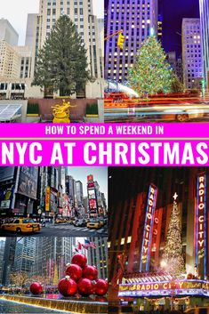 5 Must-Dos In NYC This Holiday Season - 5 must-visit stops when visiting NYC this holiday season and how to spend a holiday weekend in the city! New York City Christmas, Christmas Travel, Old World Christmas, Christmas Time, Christmas Markets, Christmas Vacation, Holiday Travel, New York City Vacation, New York City Travel