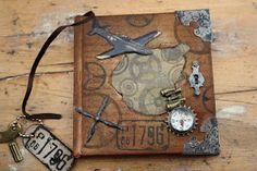 Altered book - great for journaling!