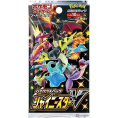 Pokemon 2020 S4a Shiny Star V Series Booster Pack
