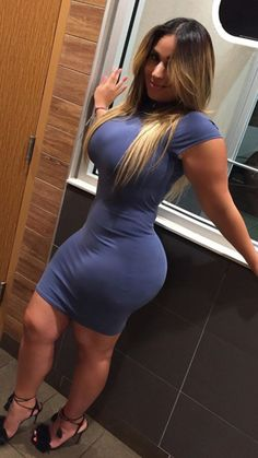 in Sexy thick dress ass