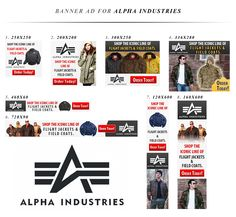 Alpha Industries needs a new banner ad Ad Design, Design Show, Flyer Design, Print Design, Graphic Design, Ad Layout, Layouts, Web Banner Design, Display Ads