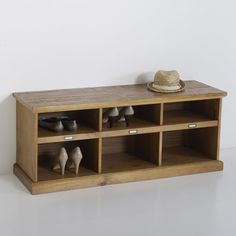 Lindley Pine Hallway Bench La Redoute Interieurs : price, reviews and rating…