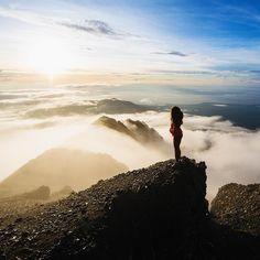Mt Rinjani, Indonesia