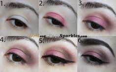 Stept by Step tutorial showing you how to achieve this smokey eye http://www.goldandsilversparkles.com/2013/11/delicate.html #bbloggers #makeup #smokey #eyemakeup #tutorial #howto #beauty