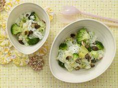 Brokkoli in Rahmsoße  Kinderrezept