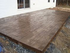 Betonterrasse Wood Stamped Concrete Patios A New Disease of the Skin Occasionally in modern medicine