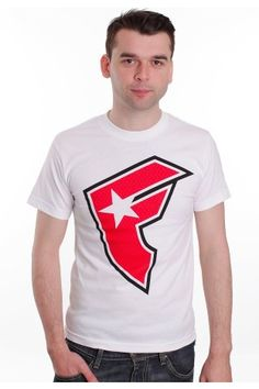Famous Stars And Straps - BOH Camp White/Red - T-Shirt