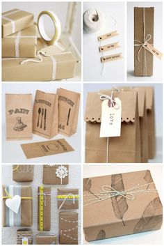 Inspiration: Brown Vintage Packaging