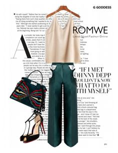 """""""CONTEST BY ROMWE !"""" by lilly-jo ❤ liked on Polyvore featuring Fendi and Christian Louboutin"""