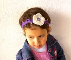 Crochet baby headband summer 2014 flowered by KnitterPrincess, $7.90