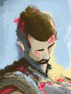 Studio autoritratto02 #draw #draws #paint #selfportrait #selfie