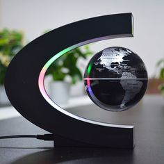 Magnetic Levitation Floating Globe Light