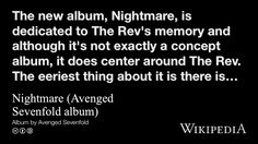 """Nightmare (Avenged Sevenfold album)"" on @Wikipedia:"