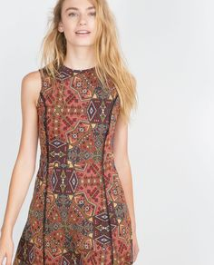 JACQUARD DRESS-View all-Dresses-WOMAN | ZARA Canada