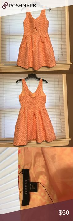 Guess Dress NWT! Love this dress but never got around to wearing it! Perfect for spring and Easter or if you just want something bright and fun!  Open to offers and some trades! Guess Dresses